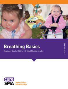 髓肌肉萎縮症病童的呼吸護理的封面。
