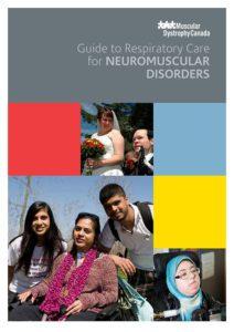 神經肌肉疾病患者的呼吸護理指南的封面。