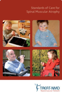 Cover of Standards of Care for Spinal Muscular Atrophy.