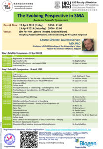 Event Flyer of Academic Scientific Symposium: The Evolving Perspective in SMA.